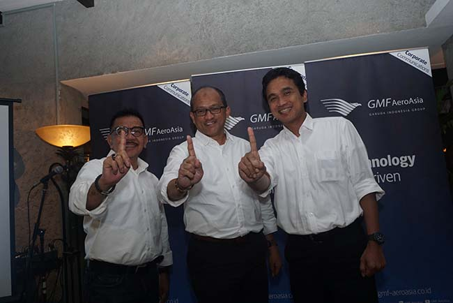 GMF AeroAsia Menargetkan Top 10 Perusahaan MRO Dunia