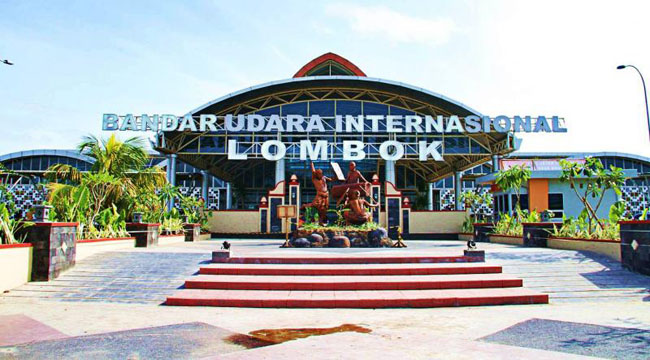 Bandara Internasional Lombok kembali dibuka untuk penerbangan