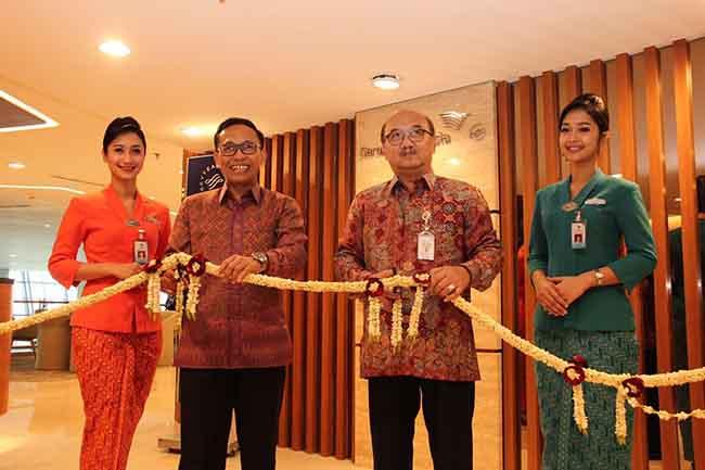 Garuda Indonesia Resmikan Fasilitas Operasional di T3 Soekarno-Hatta