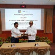 Foto MoU GMF - BP Batam