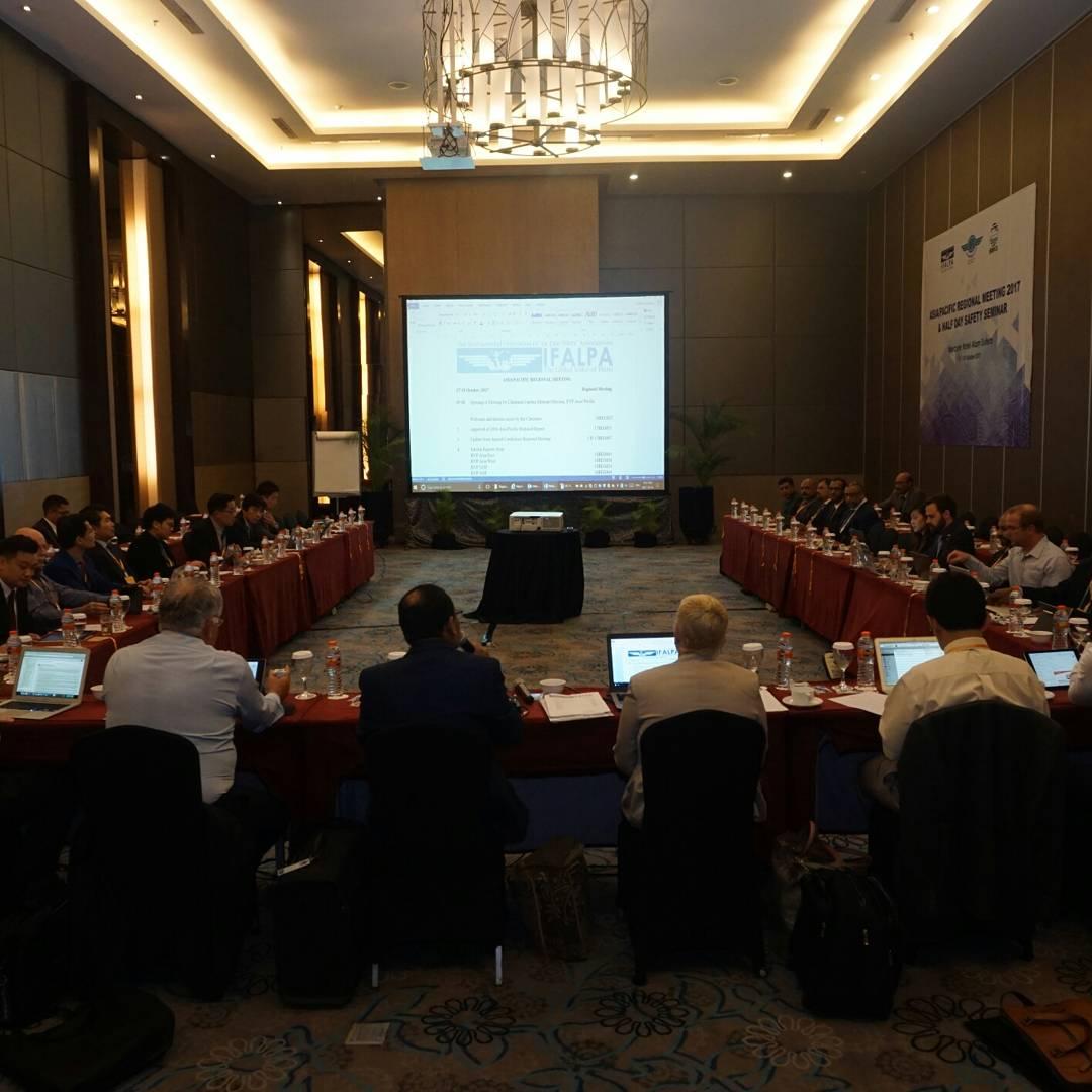 APG dan IFALPA kembali Mengadakan Seminar Keselamatan Penerbangan