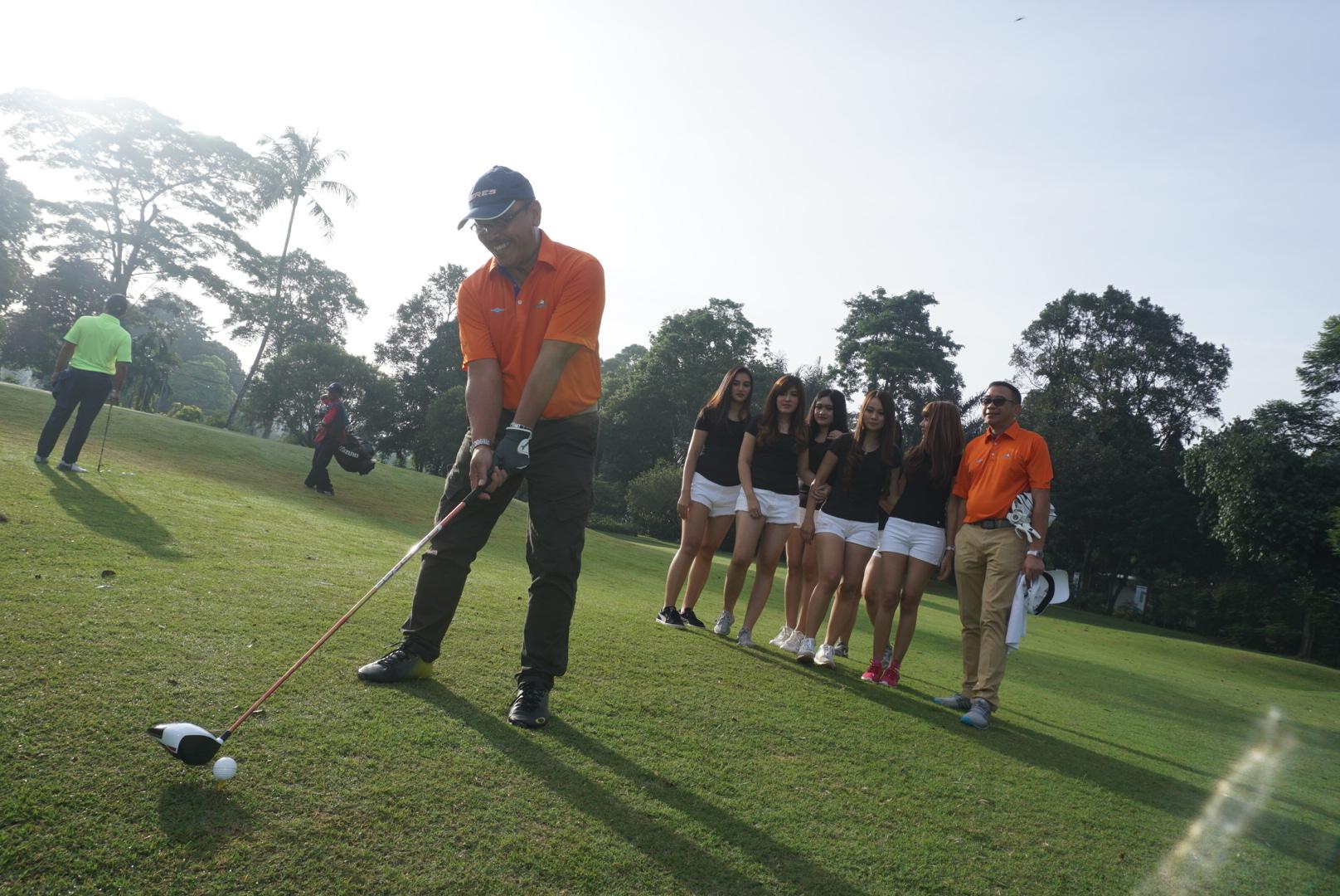 Turnamen Golf Eagle52 Resmi Dibuka