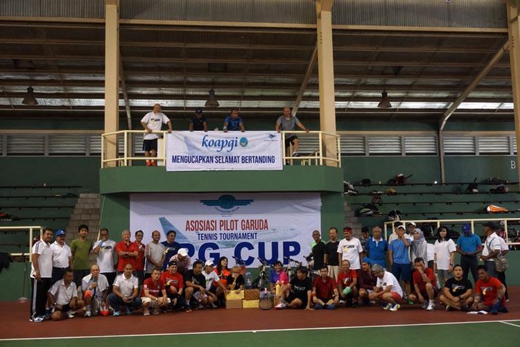 Menyatukan Semangat Dalam Turnamen Tennis APG Cup 2017
