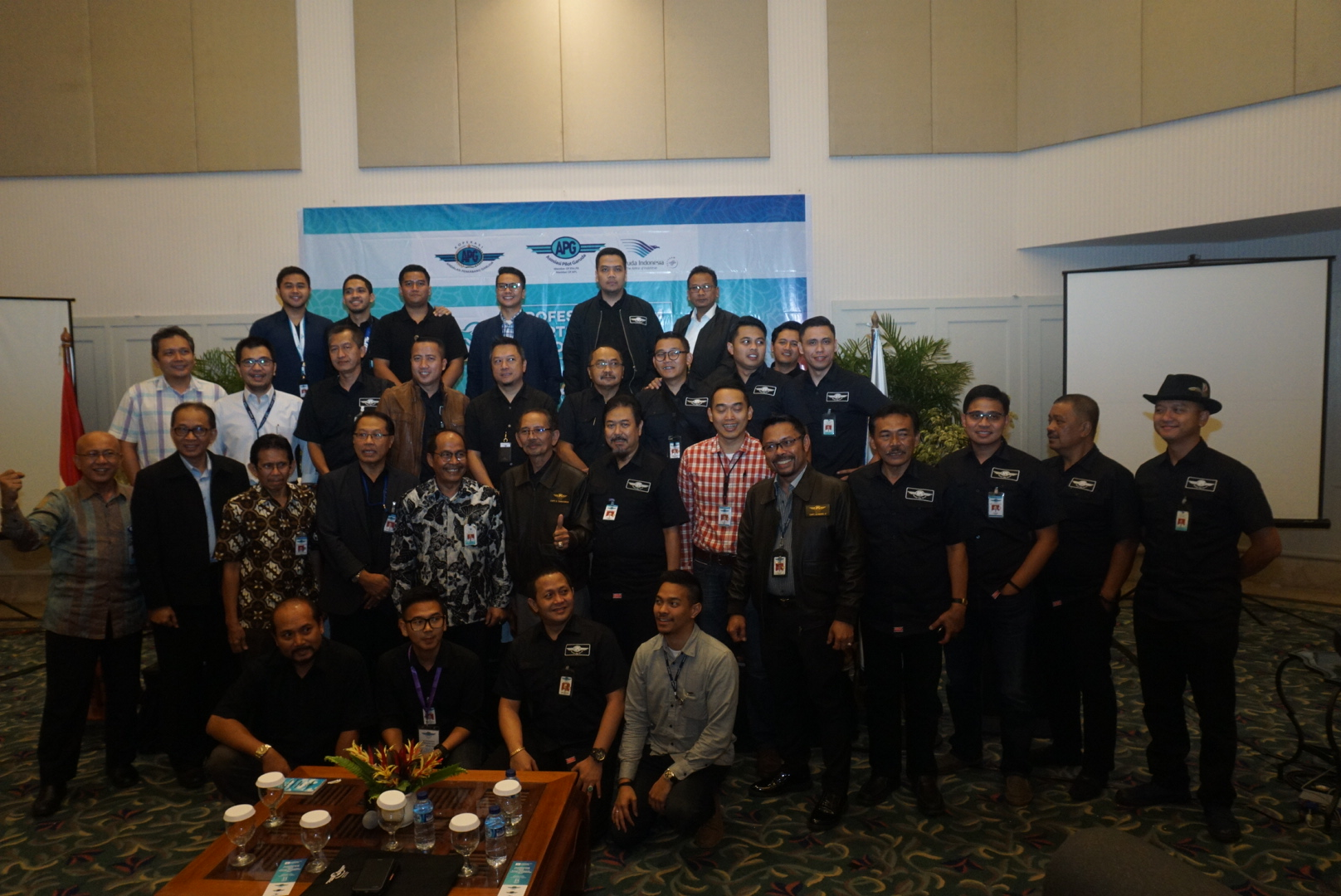 Musanglub APG Ditutup Oleh Direktur Operasi Garuda Indonesia