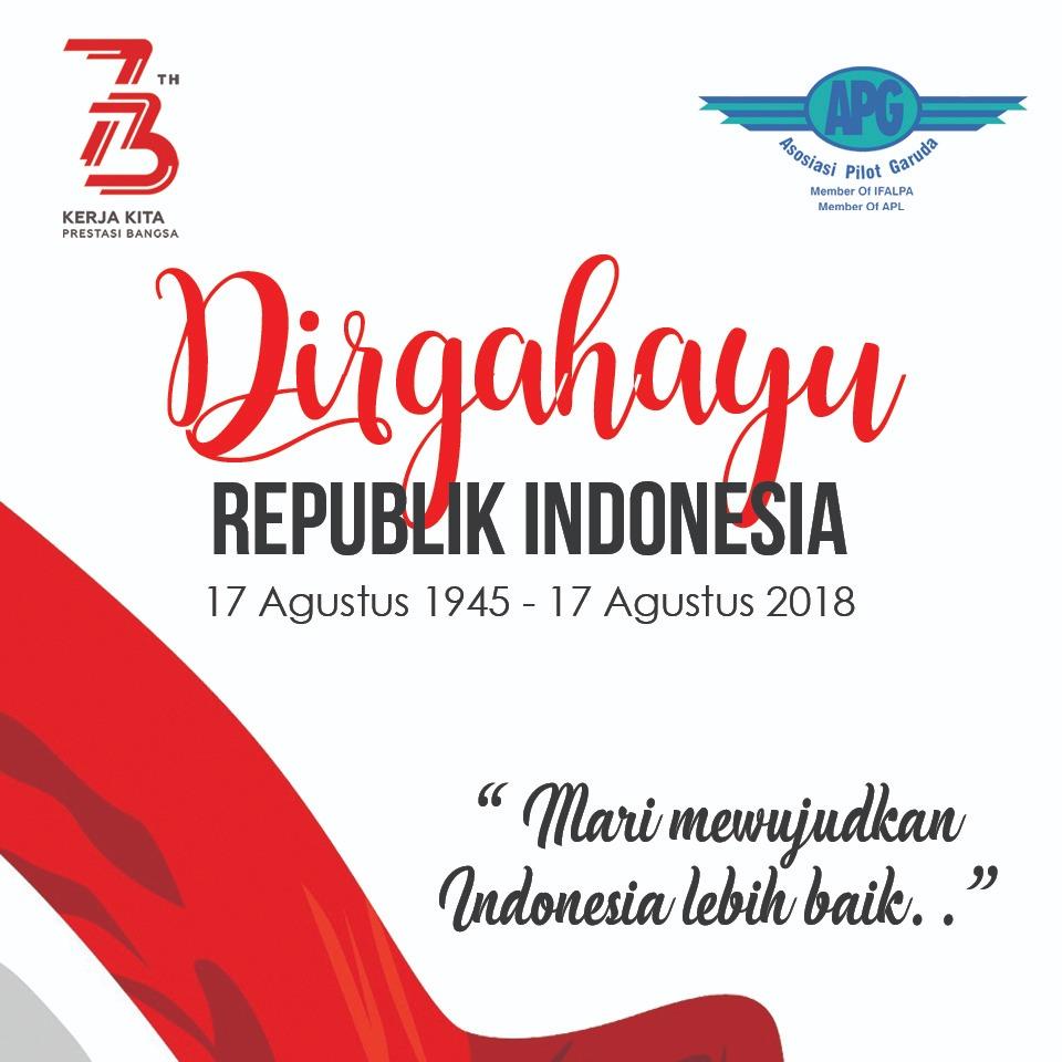 Memaknai Ultah ke-73 Indonesia Merdeka