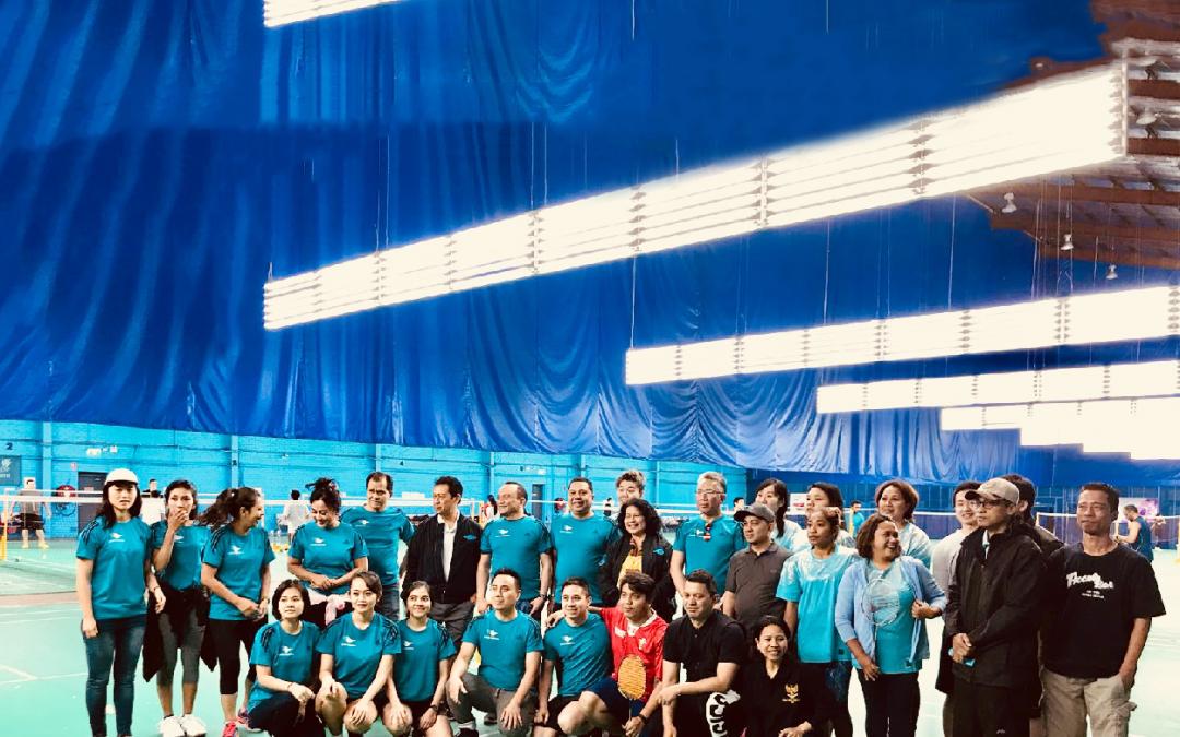 APG Badminton Gelar Pertandingan Persahabatan dengan KJRI Sydney