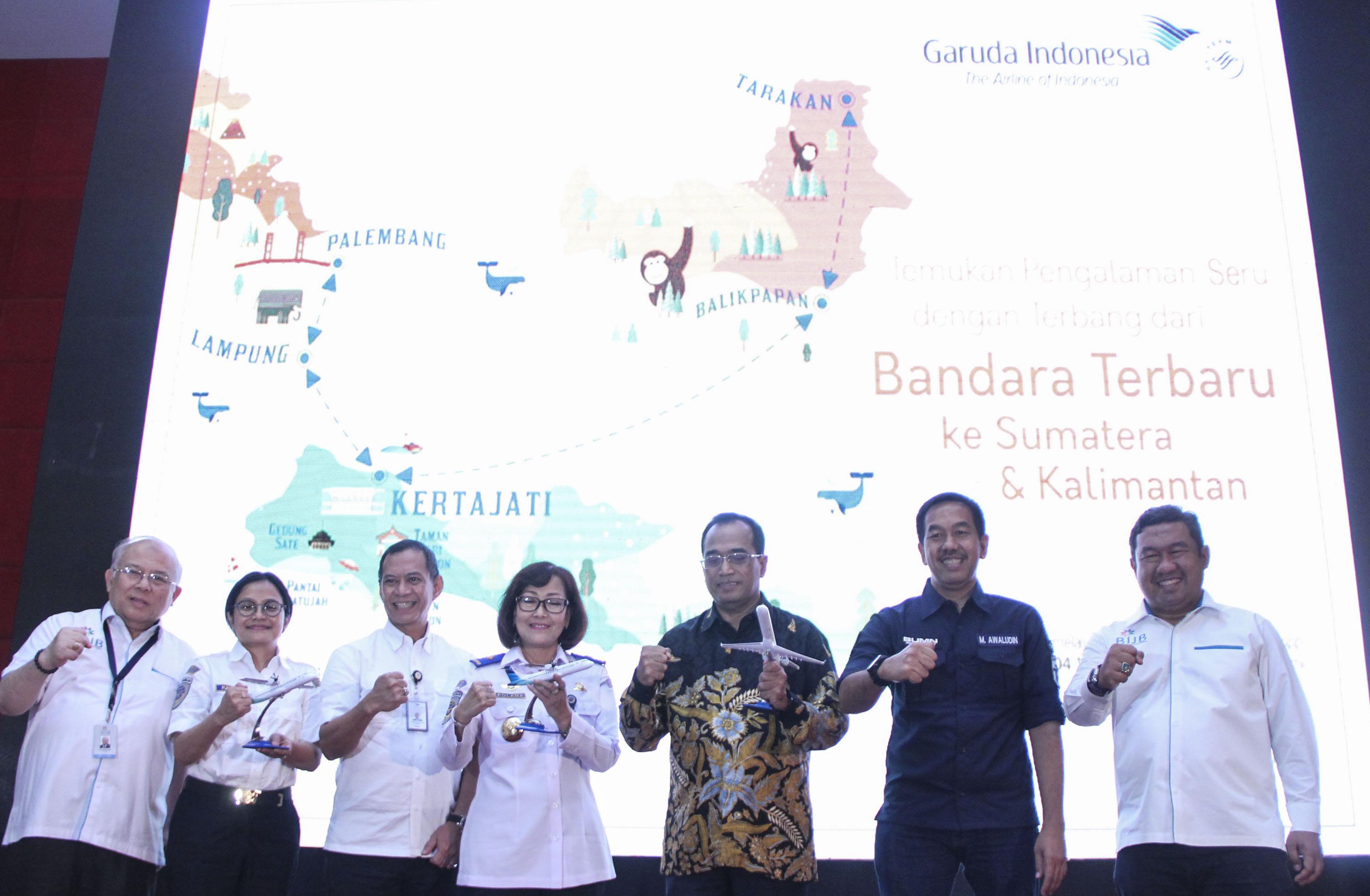 Garuda Indonesia Resmi Layani Penerbangan dari Bandara Kertajati