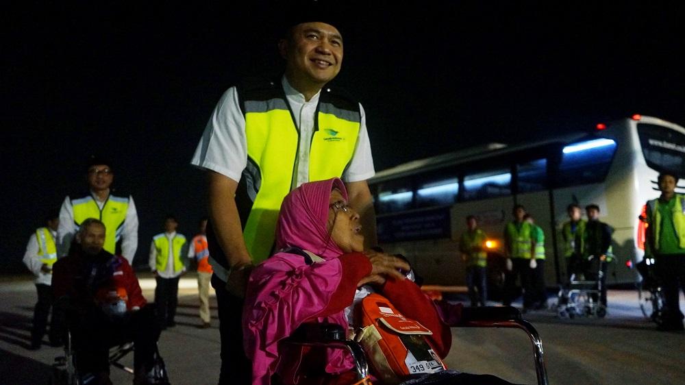 Dirjenhub Pantau Perkembangan Angkutan Balik Haji 2019