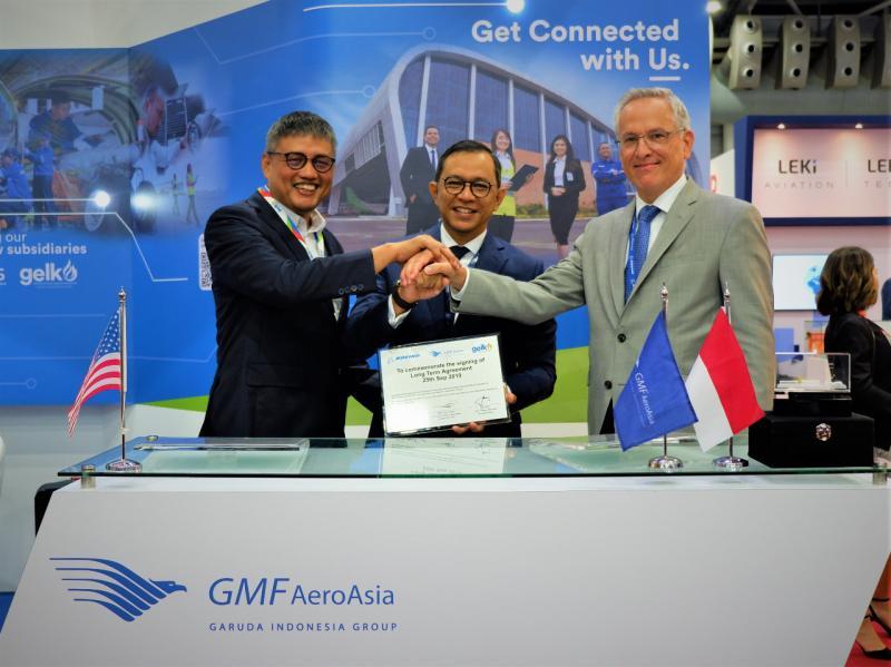 GMF Kembali Perkuat Bisnisnya Melalui Perhelatan MRO Asia Pasific