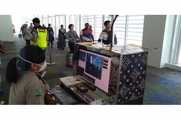 Pencegahan Virus Korona Enam Thermal Scanner Dipasang di  Bandara Soekarno Hatta