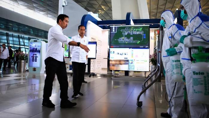 Joko Widodo : Pengecekan Bandara Soetta Sudah ketat
